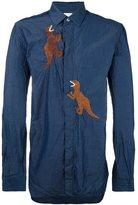 Paul Smith 'Dino' embroidered shirt