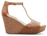 Kenneth Cole Sole Tan Cork Wedge