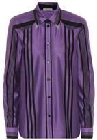 Bottega Veneta Striped cotton shirt