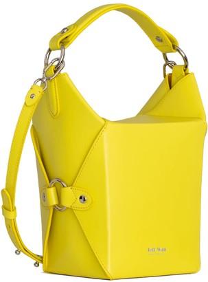 Jeff Wan Bucket Bag in Yellow Le Morne Lunch Box