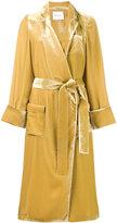 Racil - Backstage belted coat - women - Silk/Viscose - 36