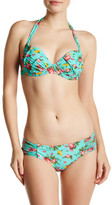 Betsey Johnson Floral Cheeky Hipster Bikini Bottom