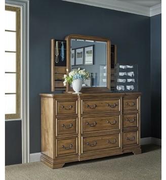 Universal Furniture 9 Drawer Dresser with Mirror