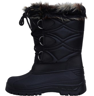 Board Angels Womens Snow Boots Black
