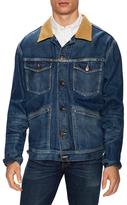 Tom Ford Corduroy Collar Denim Jacket