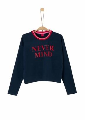 S'Oliver Girl's 66.909.41.2429 Sweatshirt