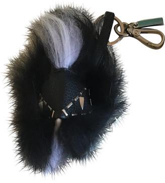 Fendi Bag Bug Black Fox Bag charms