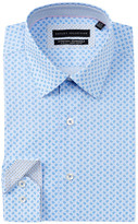 Report Collection Oxford Paisley Slim Fit Dress Shirt