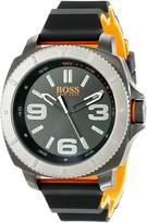 HUGO BOSS Men's Sao Paulo 1513109 Rubber Quartz Watch
