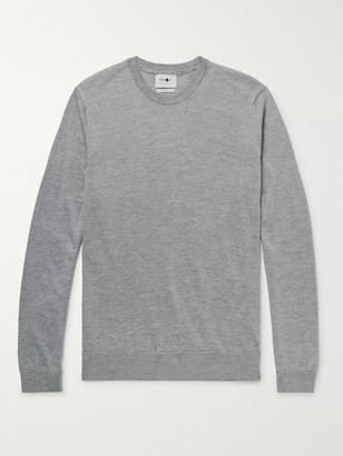 NN07 Ted Melange Merino Wool Sweater