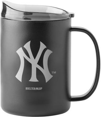 New York Yankees Unbranded MLB 15oz Stainless Steel Powder Coat Ultra Mug