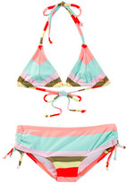 Billabong Aloha Love Triangle Swimsuit Set (Little Girls & Big Girls)