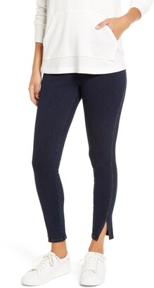 Lysse Kara Split Hem Denim Leggings