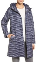 Joules Women's Right As Rain Longline Waterproof Hooded Coat
