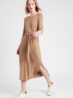 Banana Republic Luxespun Tie-Waist Dress