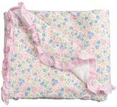 Ralph Lauren Printed 1x1 Rib Floral Blanket (Infant)