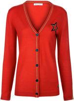 Bella Freud Red Star Libertine Cardigan