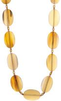 Joe Fresh Long Stone Link Necklace