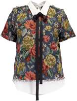 Sister Jane BAROQUE BLUES OYSTER Blouse multicoloured