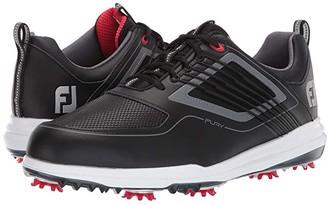 Foot Joy FootJoy Fury (White/Red) Men's Golf Shoes