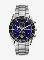 Michael Kors Accelerator Silver-Tone Watch