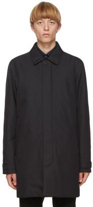 Ermenegildo Zegna Navy Mac Coat