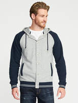 Old Navy Varsity-Style Fleece Hoodie for Men