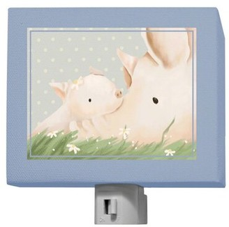 Oopsy Daisy Fine Art For Kids Turner and Kelly Night Light