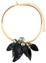 Marni petal choker necklace