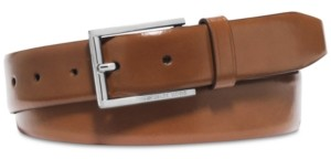 Michael Kors Men's Leather Dress Belt