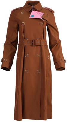 Burberry Brown And Pink Trench Coat