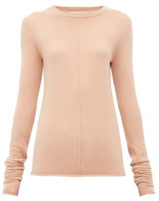 Extreme Cashmere - N114 Basic Stretch Cashmere Sweater - Womens - Light Pink