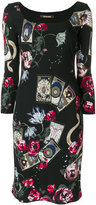 Roberto Cavalli Mystic Garden print dress - women - Viscose - 40