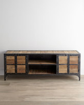 Horchow Industrial Entertainment Chest