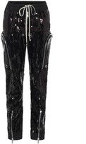 Rick Owens Bauhaus sequined cargo pants