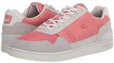 Lacoste T-Clip 120 1 US (Off-White/Pink) Men's Shoes