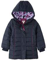 Hatley Girl's Fitted Puffer Coat Jacket,7 Years