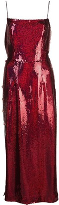 Markarian Lady sequined midi dress