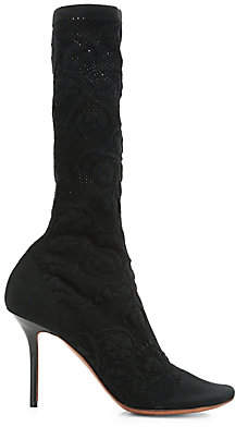 Vetements Women's Lace Sock Boots