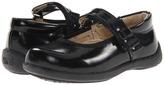 See Kai Run Kids - Margaret (Toddler/Youth) (Black Patent) - Footwear