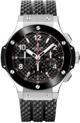 Hublot Steel Ceramic Big Bang Chronograph Watch 44mm