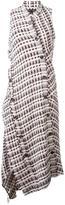 Proenza Schouler asymmetric tweed dress - women - Cotton/Acrylic/Polyamide/other fibers - 6