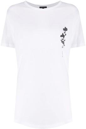 Ann Demeulemeester floral-print cotton T-shirt