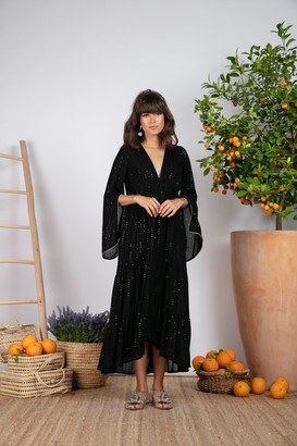 SUNDRESS Claudia Long In Preecieuse Black Resort - XS/S