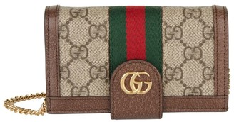 Gucci Ophida Gg Chain Phone Case