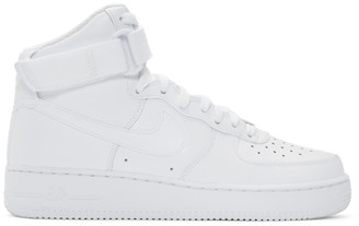 Nike White Air Force 1 High 07 Sneakers