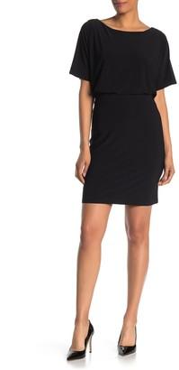 Tash + Sophie Dolman Sleeve Jersey Knit Dress