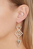 Forever 21 Geo-Shaped Drop Earrings