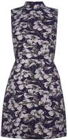 Warehouse Floral Jacquard Shift Dress