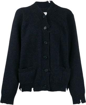 Maison Margiela distressed knitted cardigan